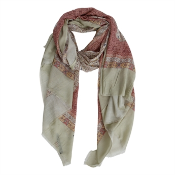 Picture of Scarf Lila, khaki mix