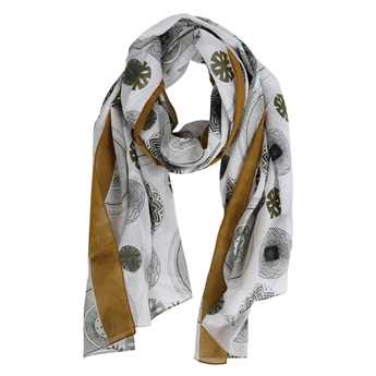 Picture of Scarf Jayla, gold/green