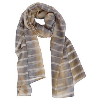 Picture of Scarf Joanna, beige/grey