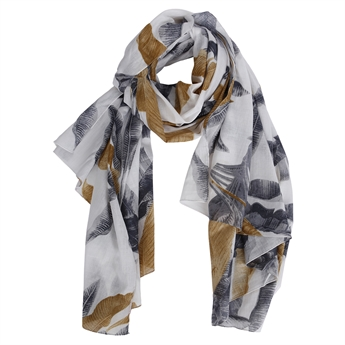 Picture of Scarf Cathy, grey/gold