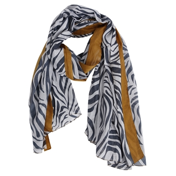 Picture of Scarf Adriana, grey/gold