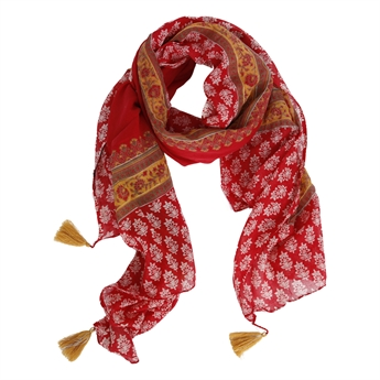 Picture of Parero/scarf Summer, red