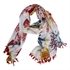 Picture of Parero/scarf Anna, red mix