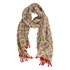 Picture of Parero/scarf Amy, mustard/red