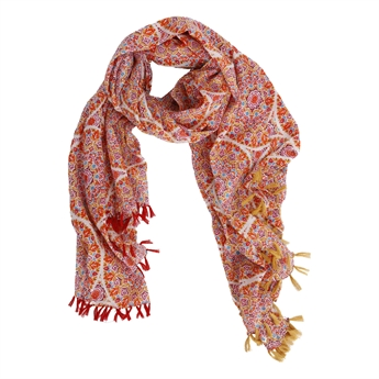 Picture of Parero/scarf Nicole, red mix