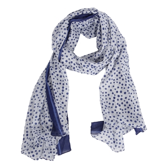 Picture of Parero/scarf Rebecca, blue
