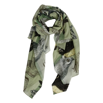 Picture of Scarf Owl, khaki mix