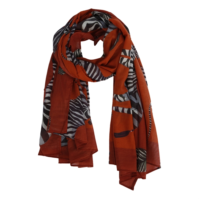 Picture of Scarf Zara, rusty