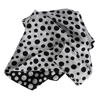 Picture of Mini scarf Grace, black/white