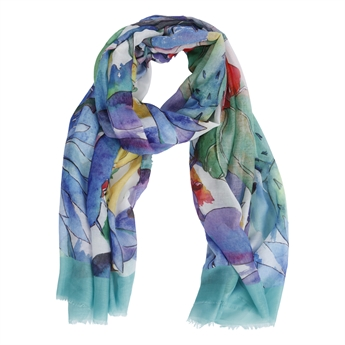 Picture of Scarf Lillian, blue mix