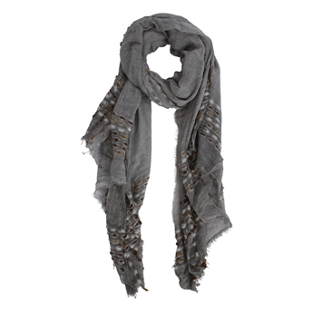 Picture of Scarf Charlotte, grey