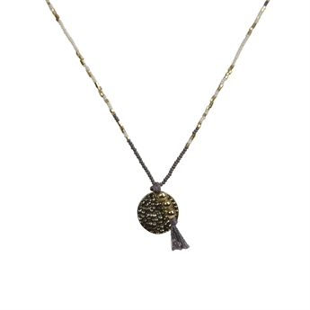 Picture of Necklace Paddie, goldc.