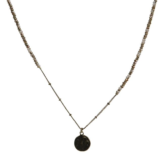 Picture of Necklace Alexandra, antique gold.