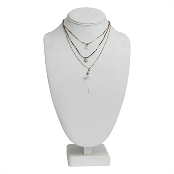Picture of Necklace Hadley, ivory.