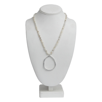 Picture of Necklace Layla, silver.