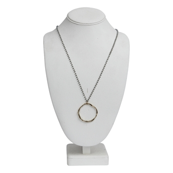 Picture of Necklace Zoey, gold.
