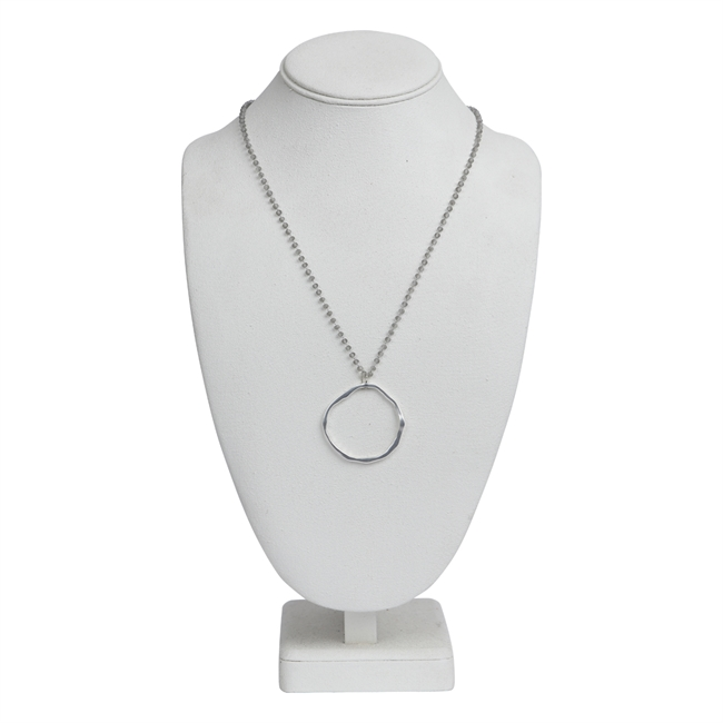 Picture of Necklace Zoey, silver.