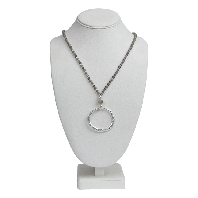 Picture of Necklace Emma, silver.