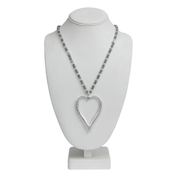 Picture of Necklace Olivia, silver.