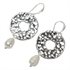 Picture of Earring Eleanor, silver.