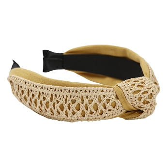 Picture of Hairband Addisson, mustard