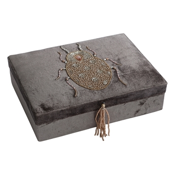 Picture of Jewellery box Scarabee, grey