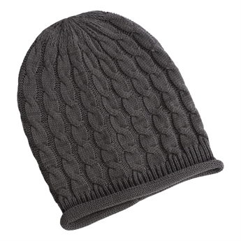 Picture of Beanie Fiona, dk grey