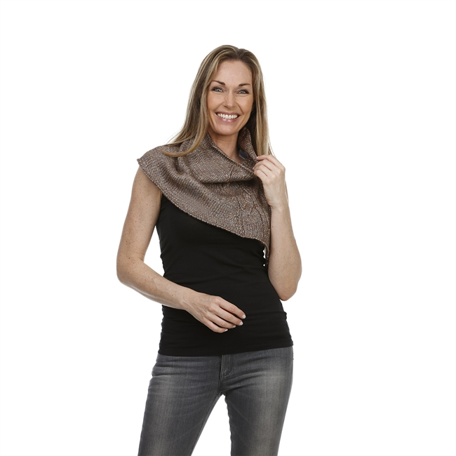 Picture of Collar Jeanette, metallic brown