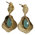 Picture of Earring Ally, gold plating/chalcedony