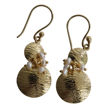 Picture of Earring Joline, gold plating/pearl