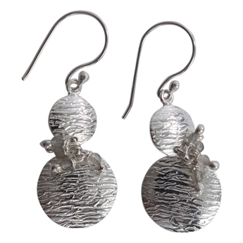 Picture of Earring Joline, silver plating/labradorite