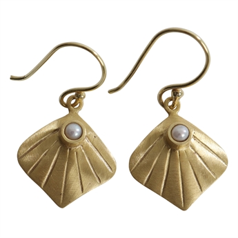 Picture of Earring Lea, gold plating/pearl