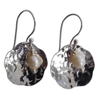 Picture of Earring Naya, silver plating/pearl