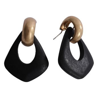 Picture of Earring Amelia, black