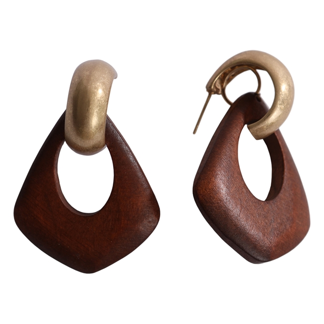 Picture of Earring Amelia, brown