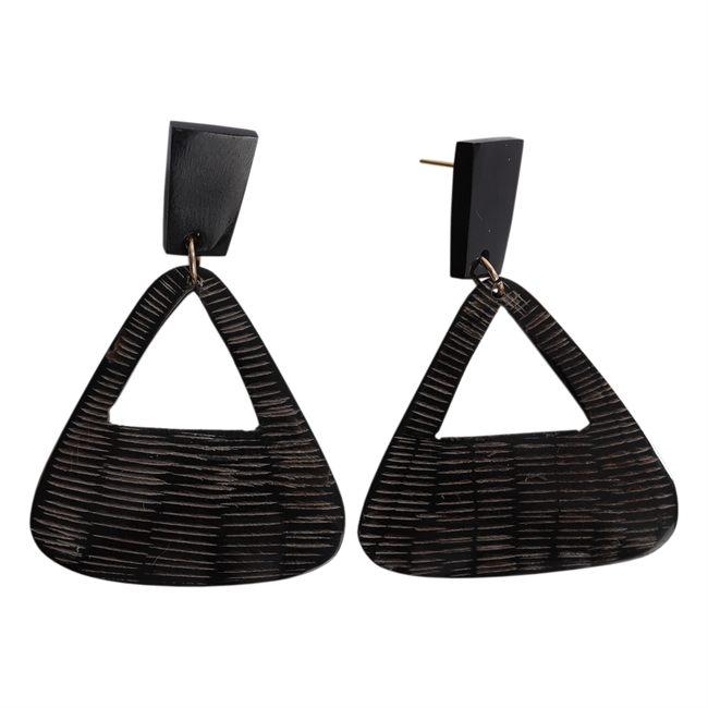 Picture of Earring Cora, black