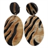 Picture of Earring Alice, black/ivory