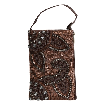 Picture of Mini clutch Chantelle, brown