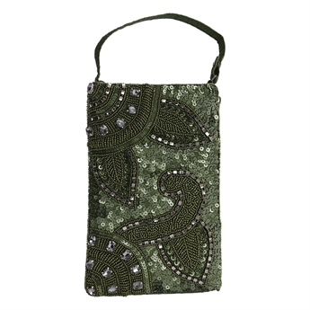 Picture of Mini clutch Chantelle, green