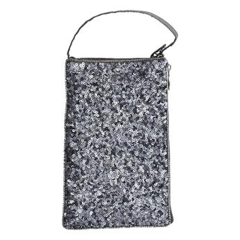 Picture of Mini bag Alessandra, silver