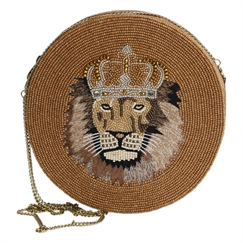 Picture of Clutch bag Leo, gold