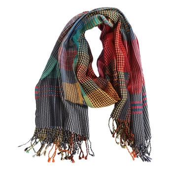 Picture of Scarf Eliza, green mix