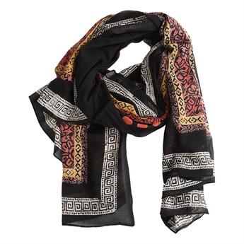 Picture of Parero/scarf Alissa, black mix