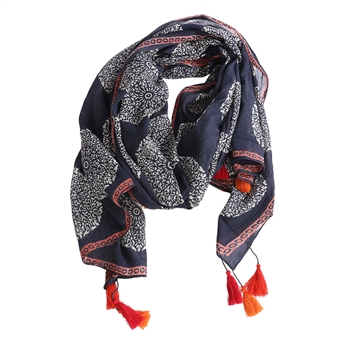 Picture of Parero/scarf Lindy, dk blue