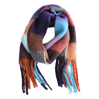 Picture of Scarf Freja, blue mix