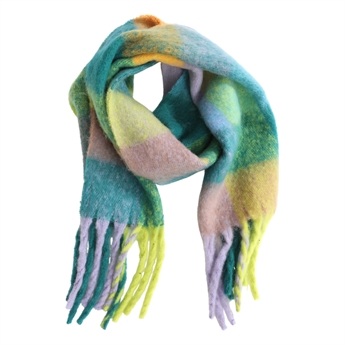 Picture of Scarf Freja, green mix
