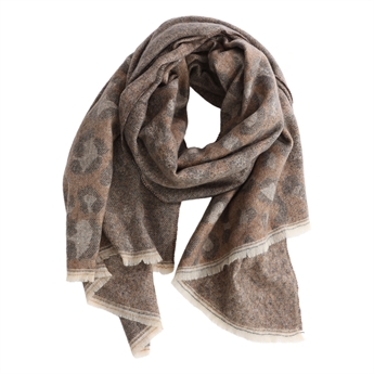 Picture of Scarf Majken, brown