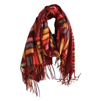 Picture of Scarf Marcella, red