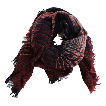Picture of Scarf Milou, blue/red