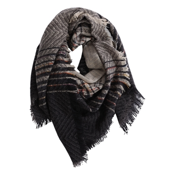 Picture of Scarf Milou grey/blue